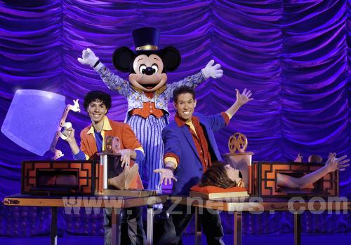 米老鼠变魔术 迪士尼舞台剧下月深圳上演