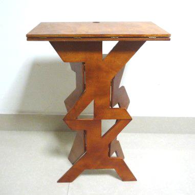 新款木制折叠魔术桌